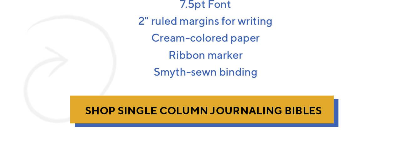 ESV Single Column Journaling Bibles