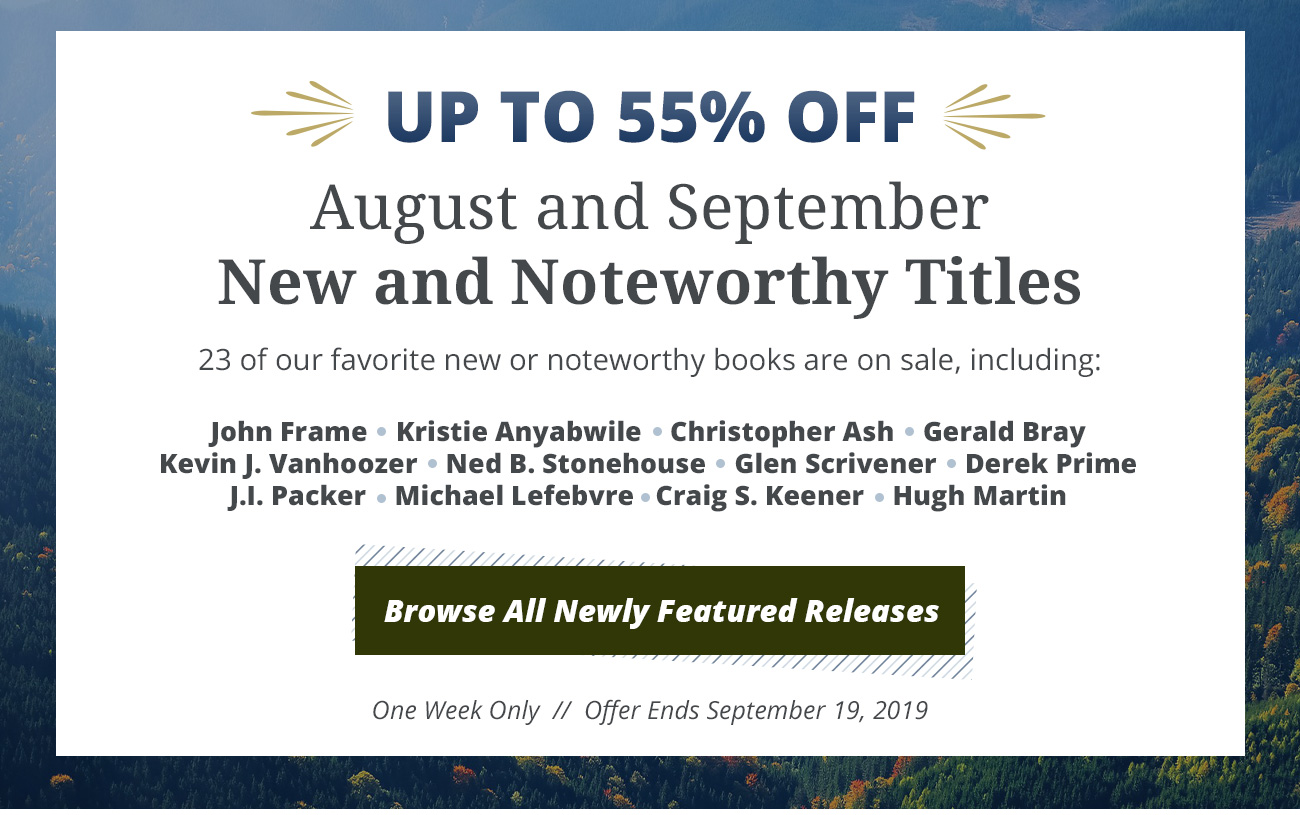 New & Noteworthy Releases