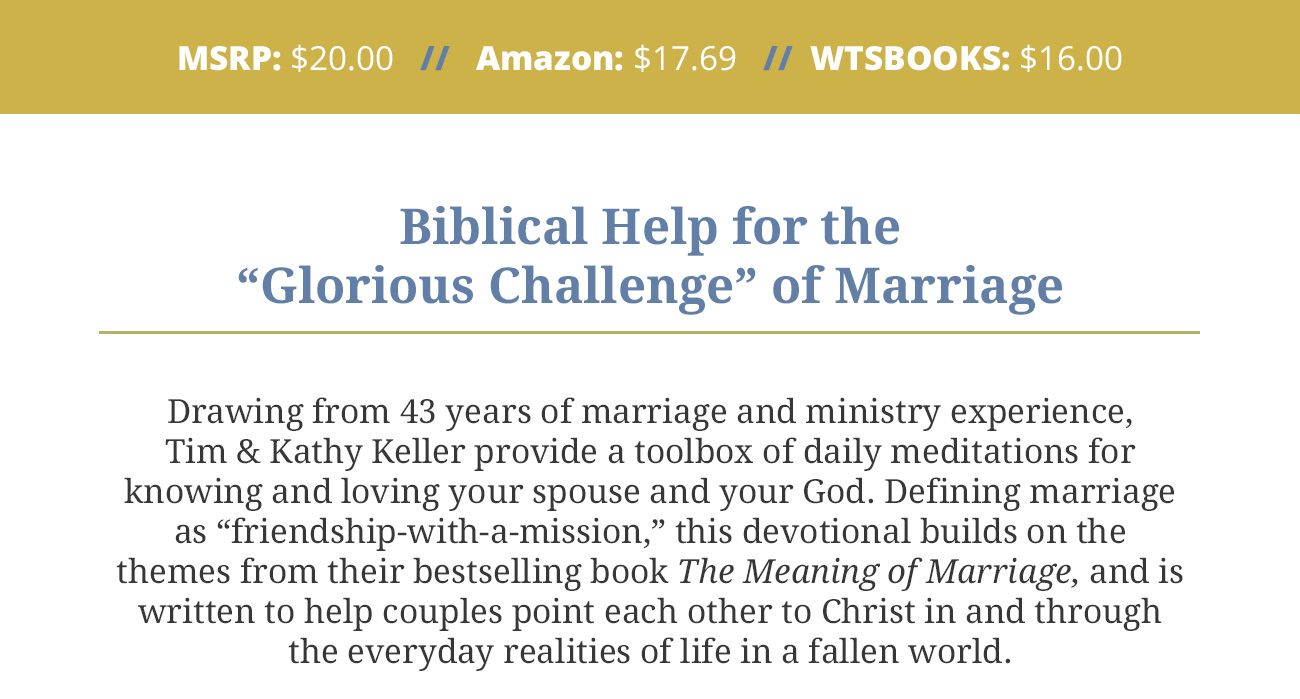 Meaning of Marriage Devotional