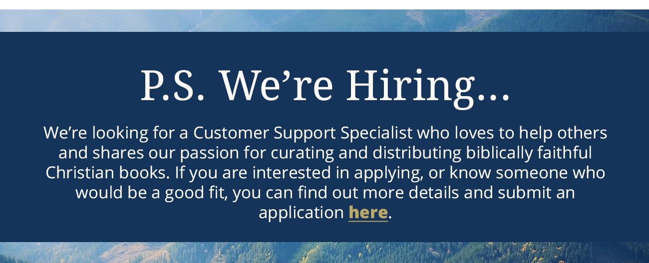 p.s. we're hiring