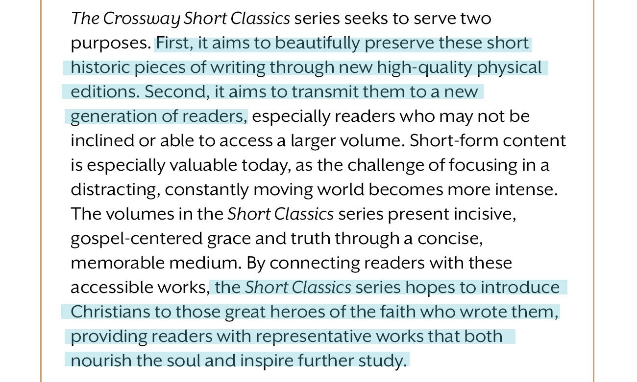 Crossway Short Classics