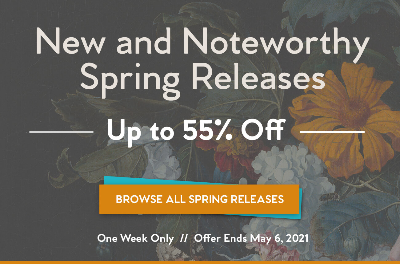 Spring New & Noteworthy