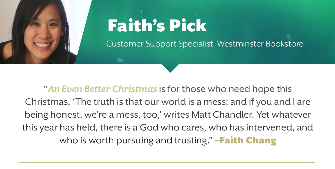 Christmas Outreach Staff Picks