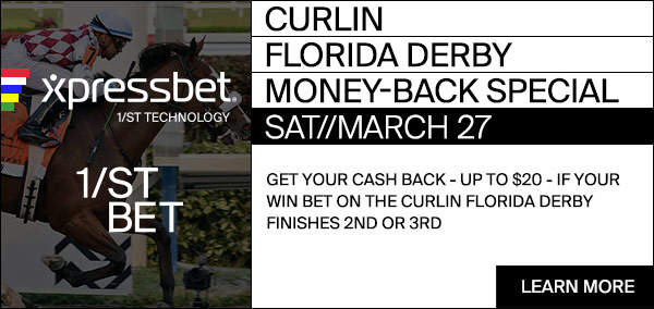 Florida Derby Money Back Special