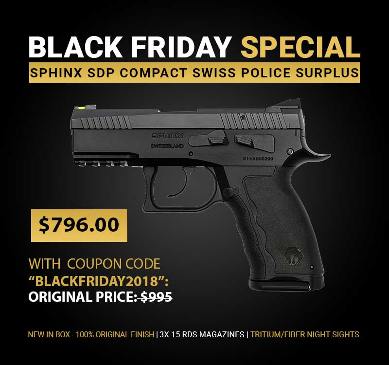 SDP Compact Swiss Police Surplus