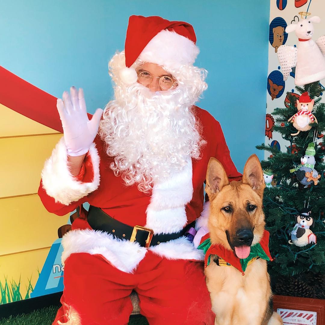 Santa Gives Back
