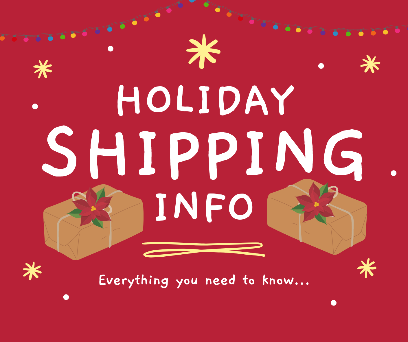 Nature's Select Holiday Shipping Info
