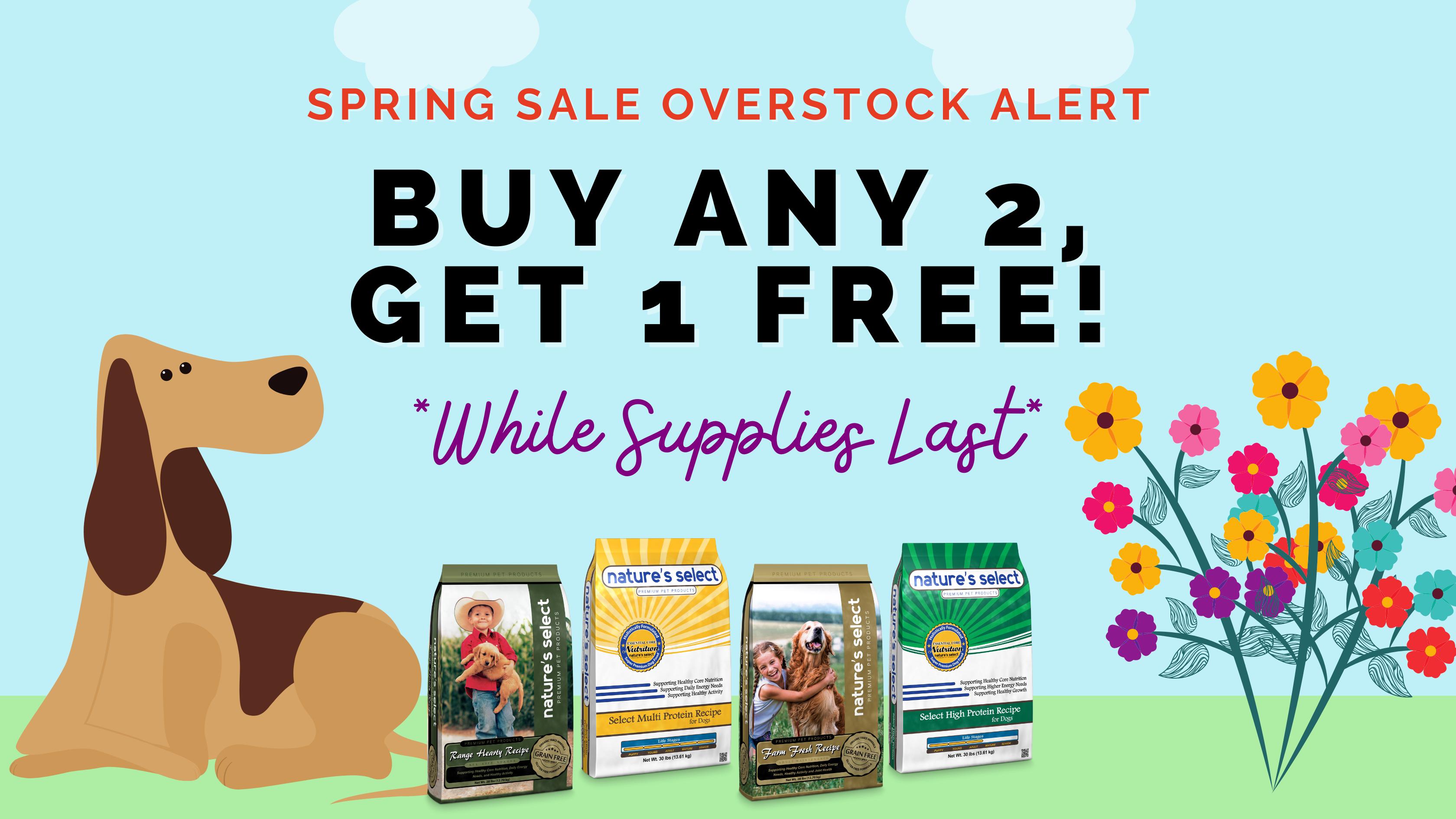 Spring Sale Alert!