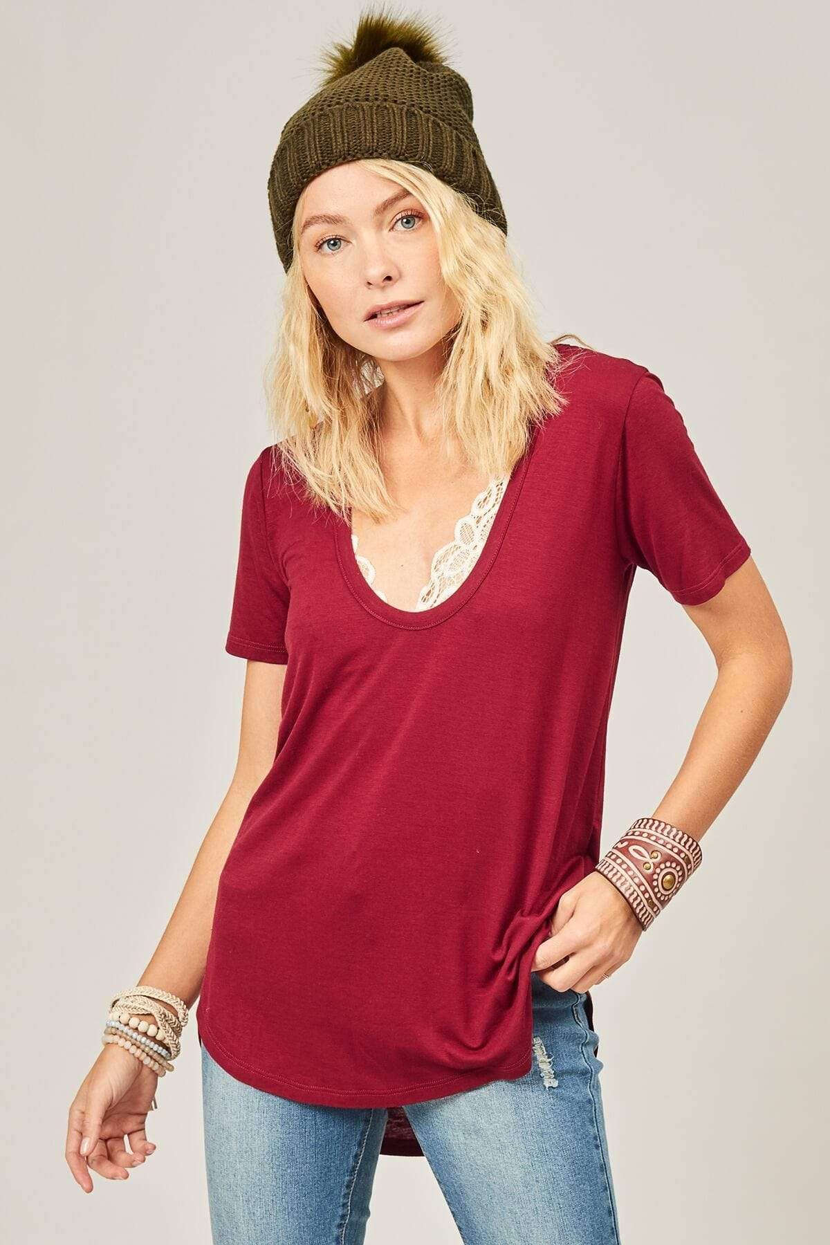 Kristi Long Sleeve Lace Top