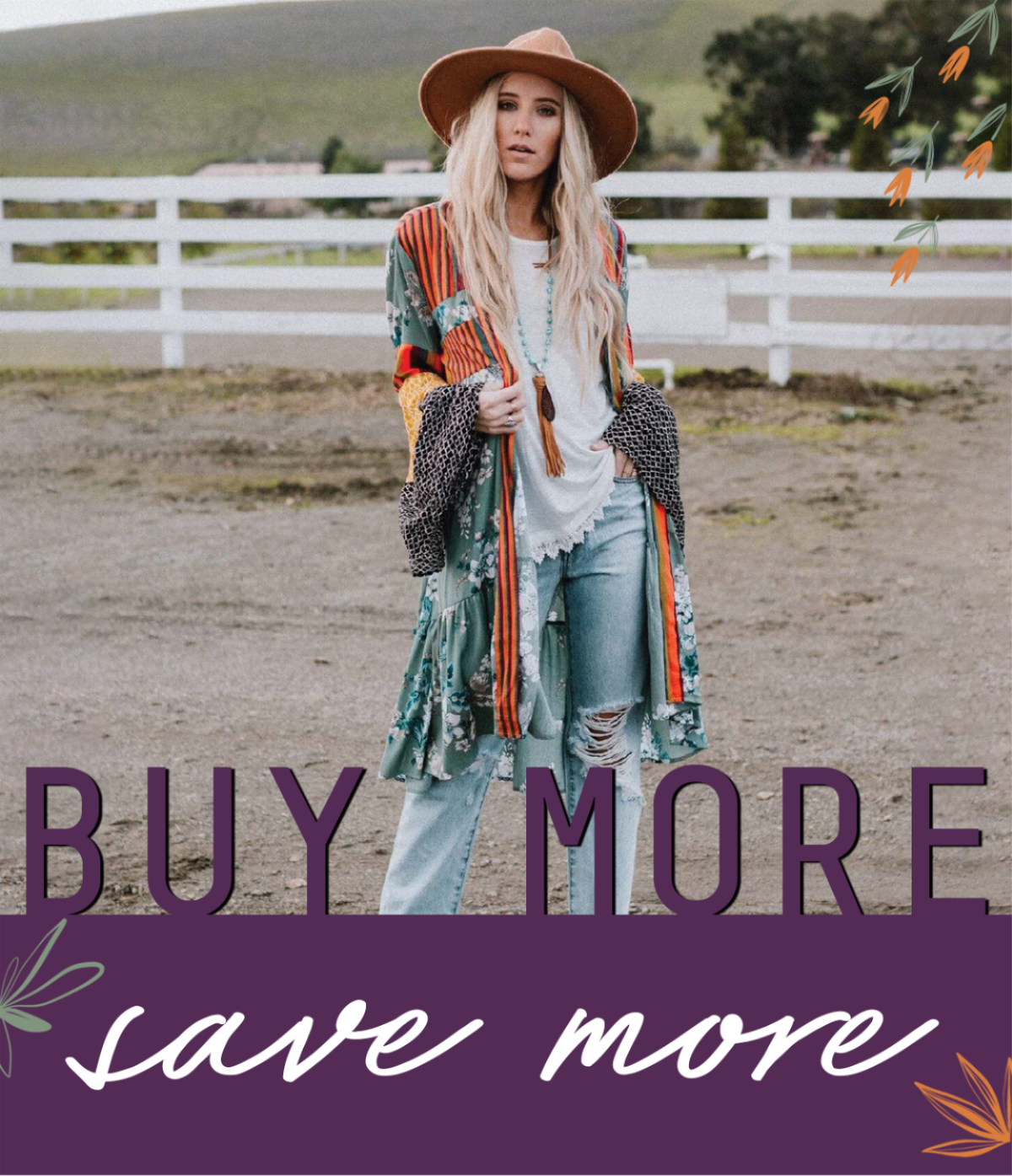 Buy More Save More Sale!
