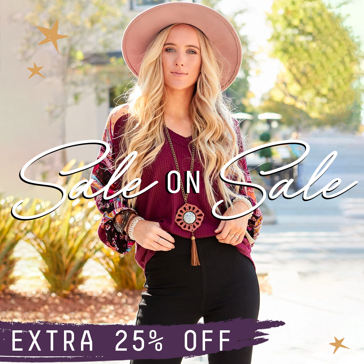 Sale On Sale: Get an extra 25% off sale items!