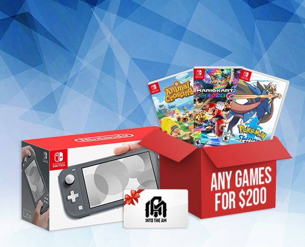 Enter for a chance to win a Nintendo Switch Bundle