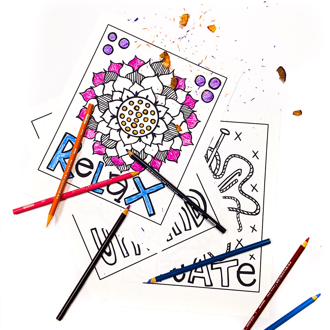 FREE COLORING Page DOWNLOADs for kids and adults