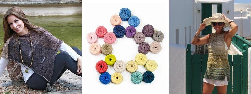 25% off herbal dyed silk yarn packs