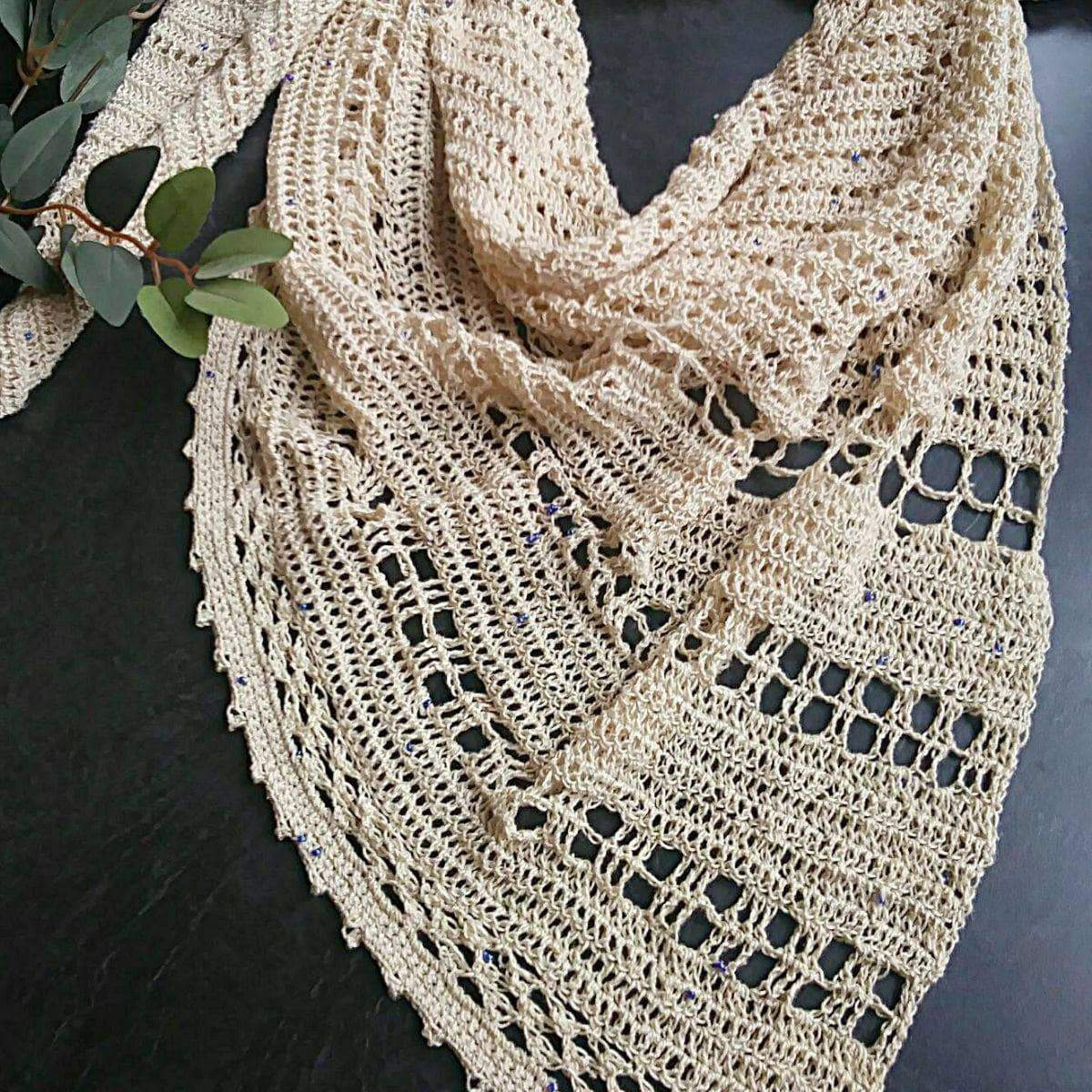 Today's free pattern download: Lovelace Shawl