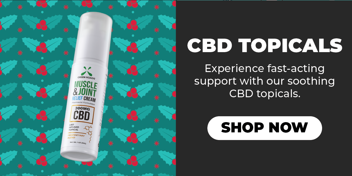 Shop the Green Roads Cyber Monday Sale and stock up on CBD topicals