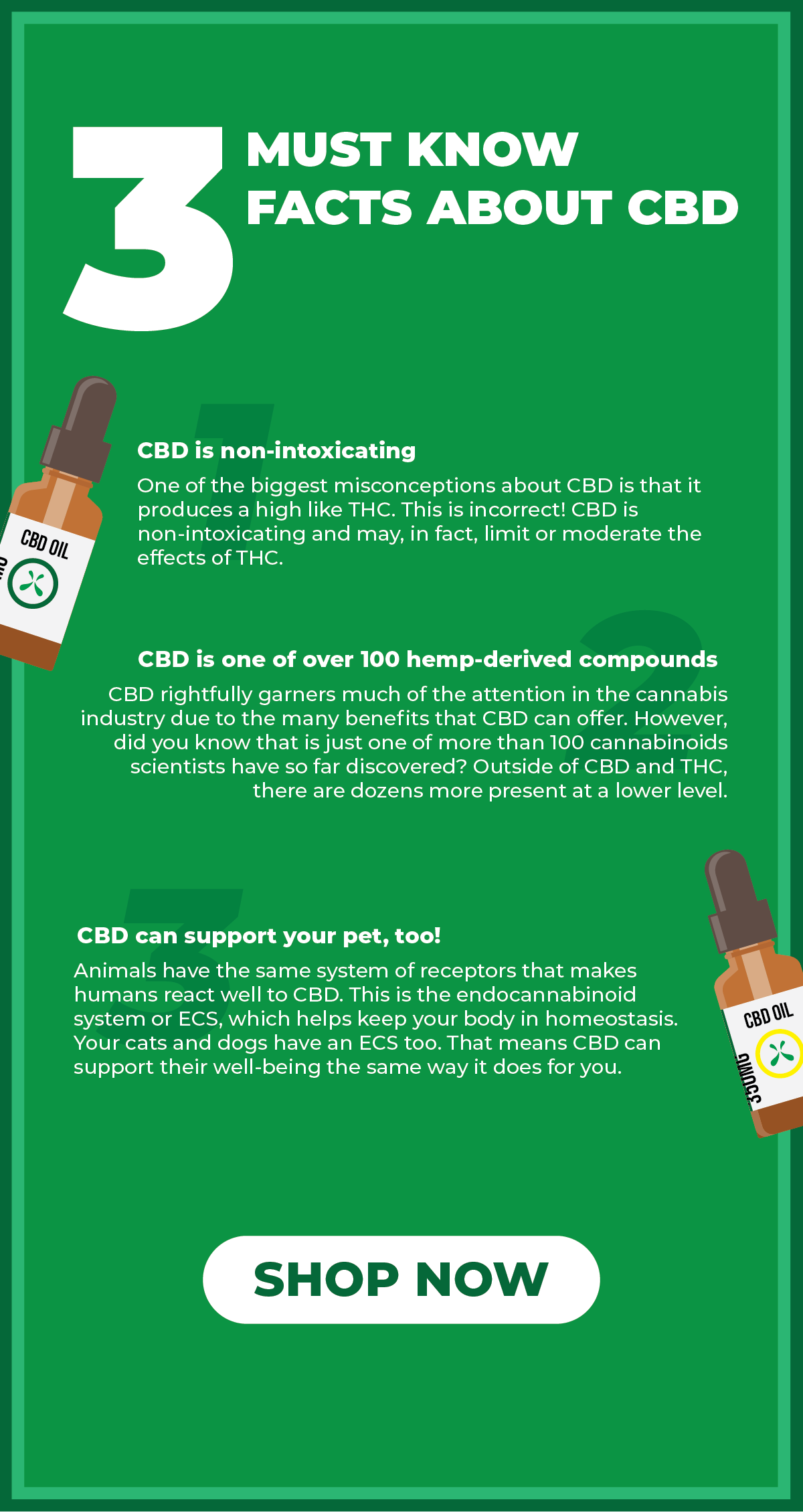 3 things you must-know about CBD