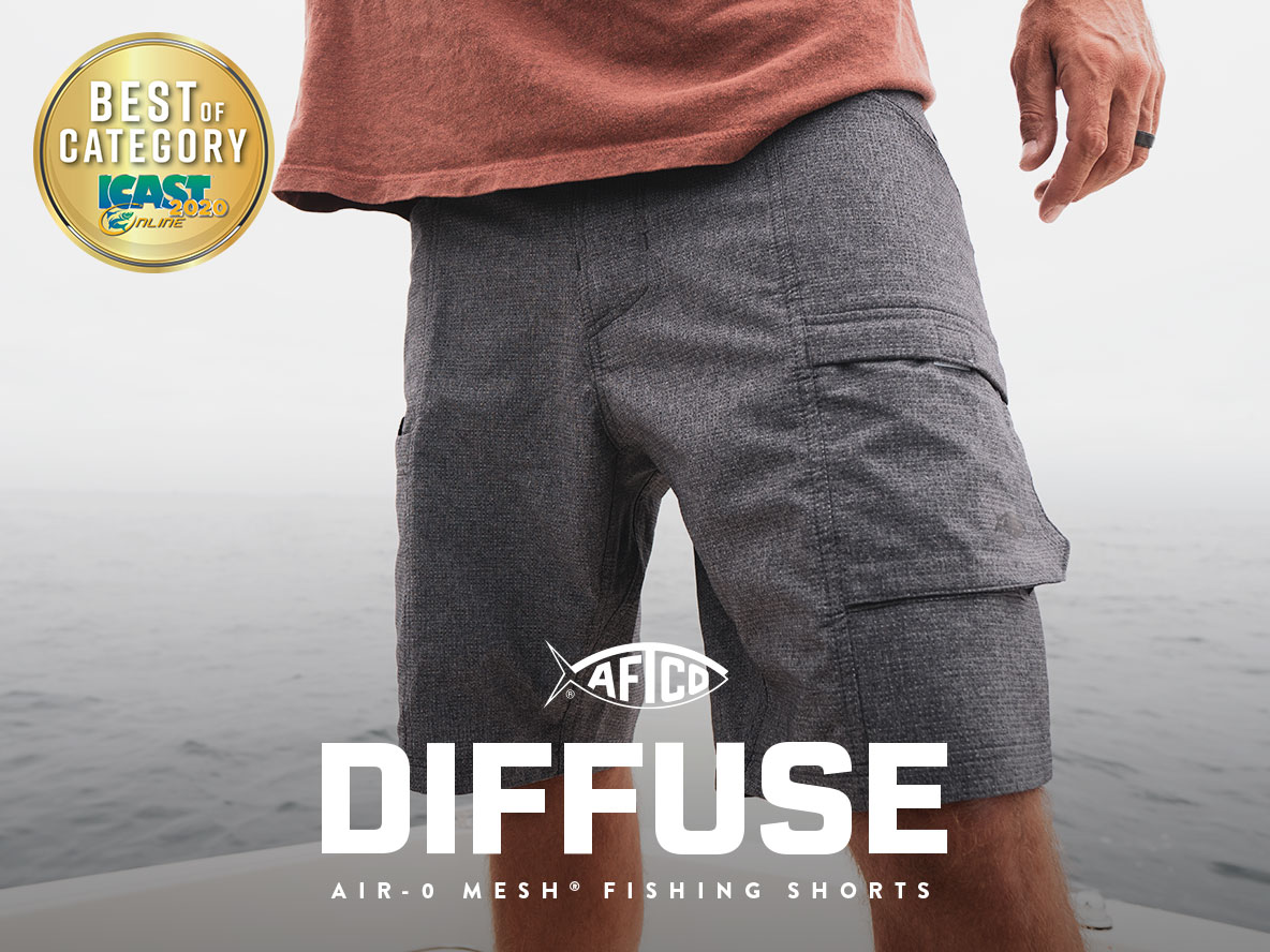 Diffuse Air-0 Mesh® Fishing Shorts
