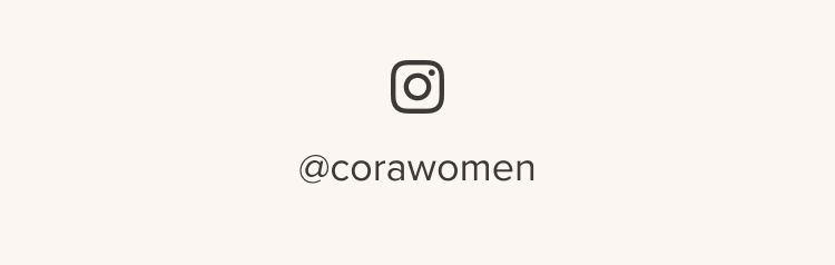 Follow along @corawomen