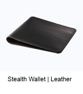 stealth wallet leather