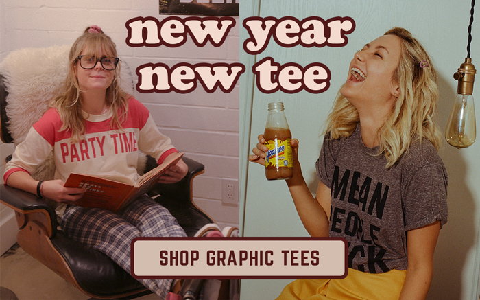 new year new tee - shop graphic tees