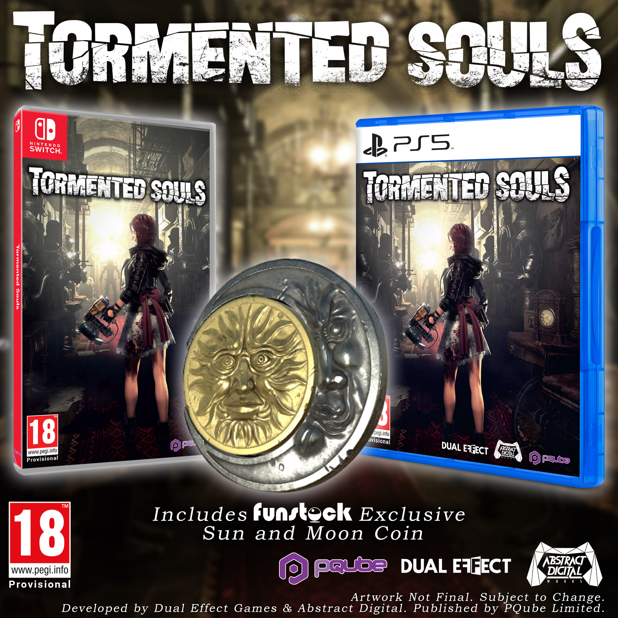 Tormented Souls Funstock Exclusive Limited Edition