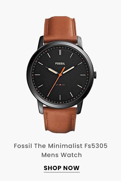 Fossil The Minimalist Fs5305 Mens Watch. Shop Now.