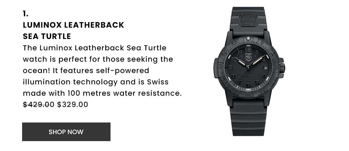 Luminox Leatherback Sea Turtle Watch. Shop Now.