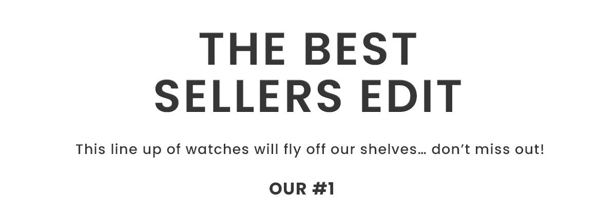 The Best Sellers Edit
