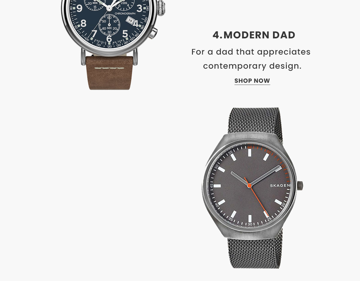 Modern Watches. Shop Now.