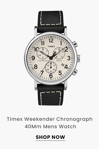 Timex Weekender Chronograph 40Mm Mens Watch. Shop Now.