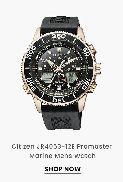Citizen JR4063-12E Promaster Marine Mens Watch. Shop Now.