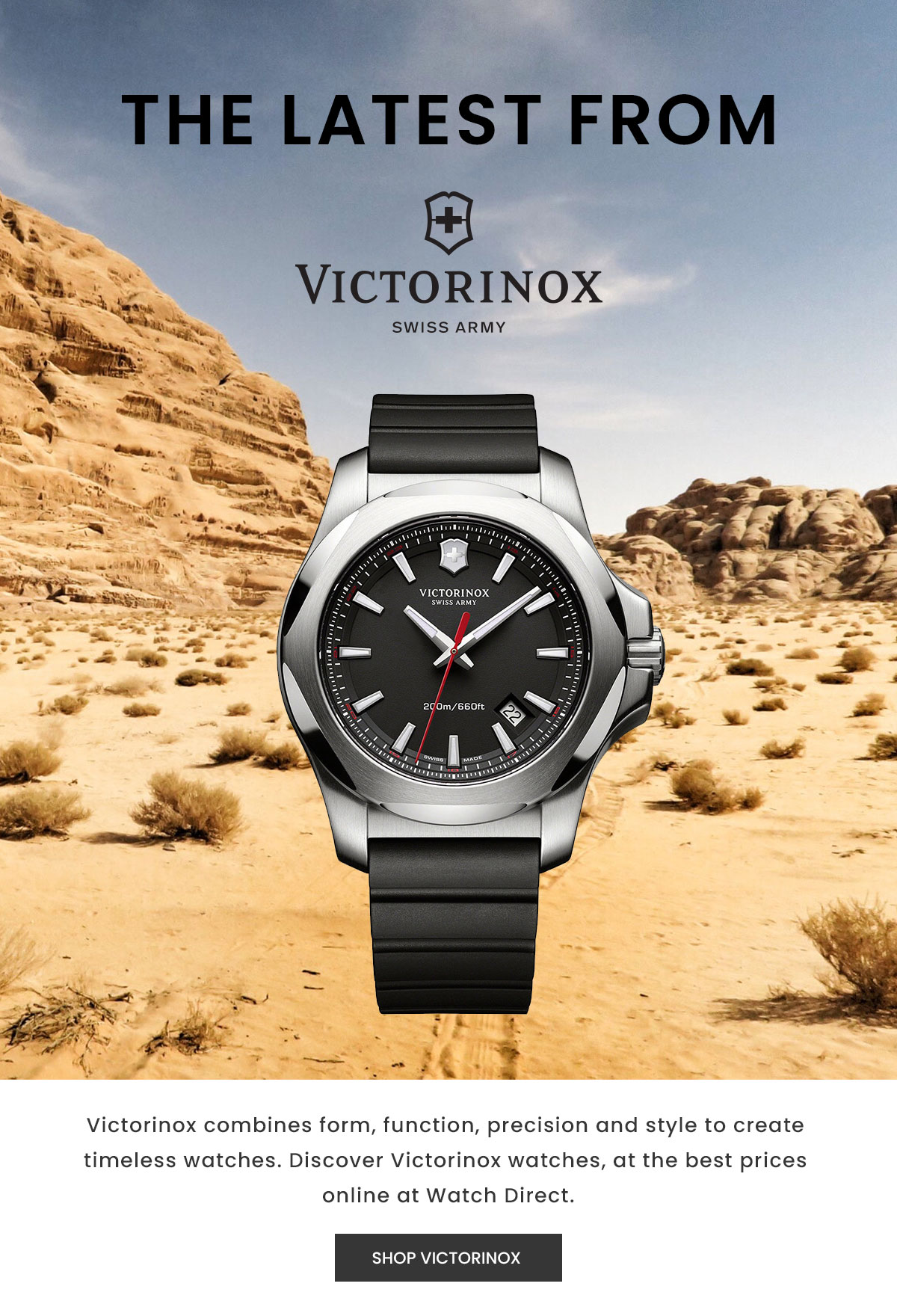 The latest from Victorinox. Shop Now.