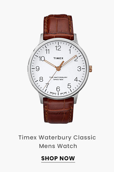 Timex Waterbury Classic Mens Watch. Shop Now.