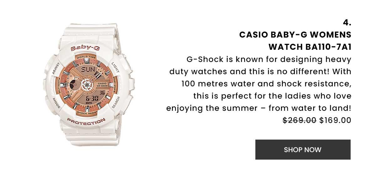 Casio Baby-G Womens Watch BA110-7A1. Shop Now.