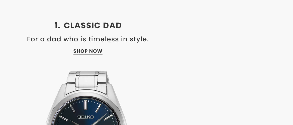 Classic Watches. Shop Now.