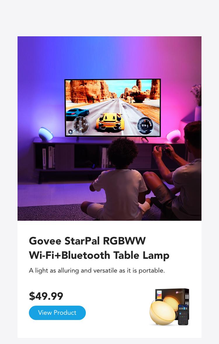 Govee RGBWW Bluetooth StarPal Table Lamp