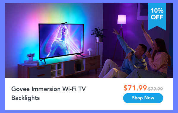 Govee Immersion Wi-Fi TV Backlights