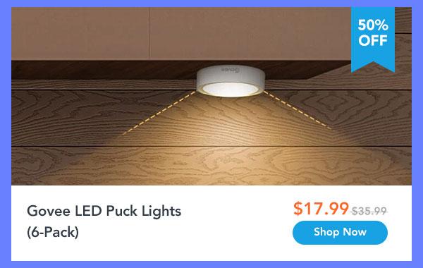 Govee LED Puck Lights (6-Pack)