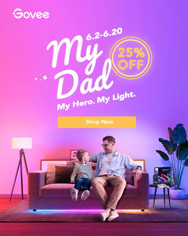 My Dad. My Hero. My Light. Up to 25% Off