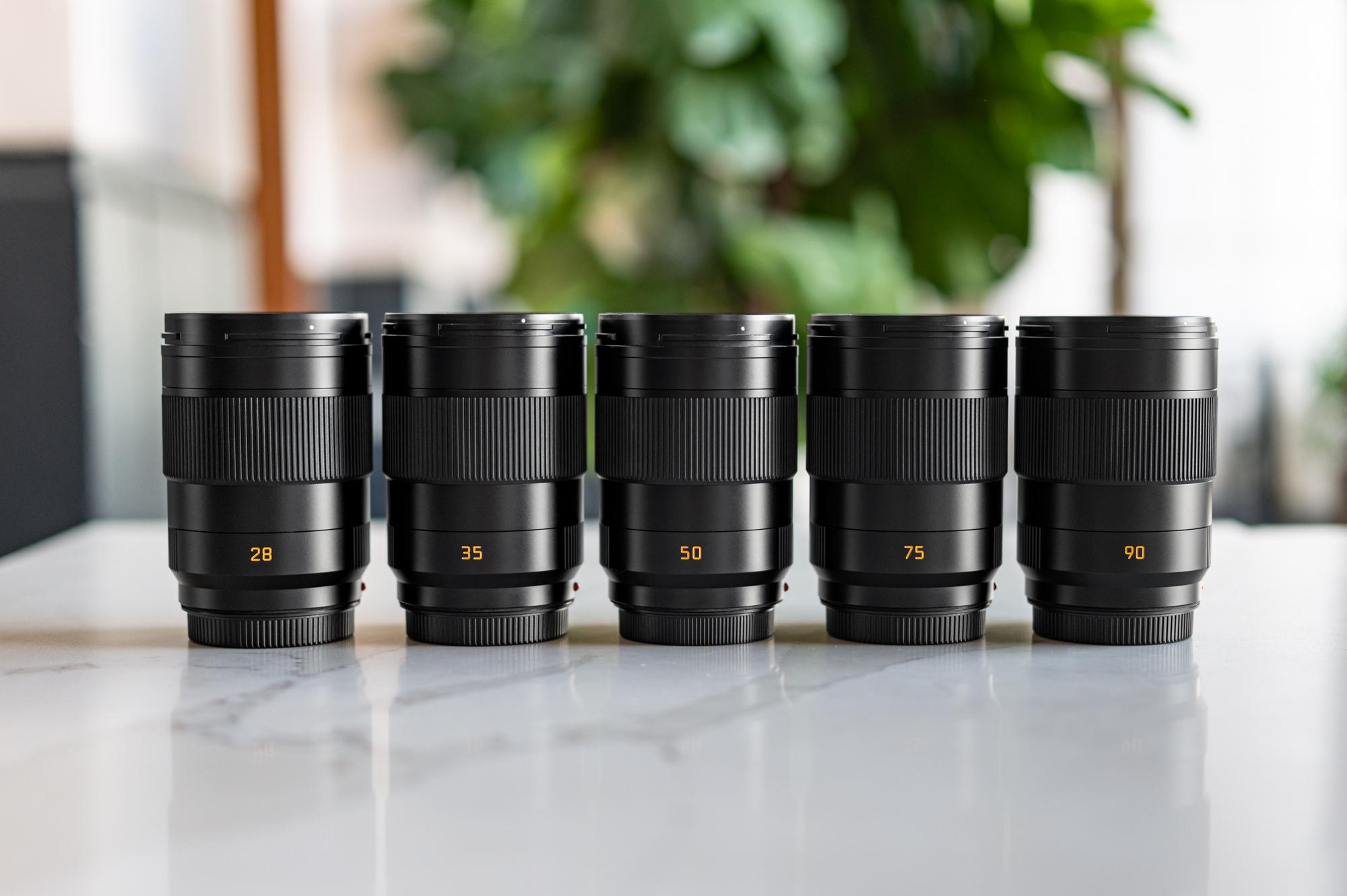 Leica APO-Summicron-SL Lenses