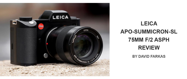 Leica APO-Summicron-SL 75mm f/2 ASPH Review