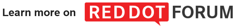 Learn more on Red Dot Forum.