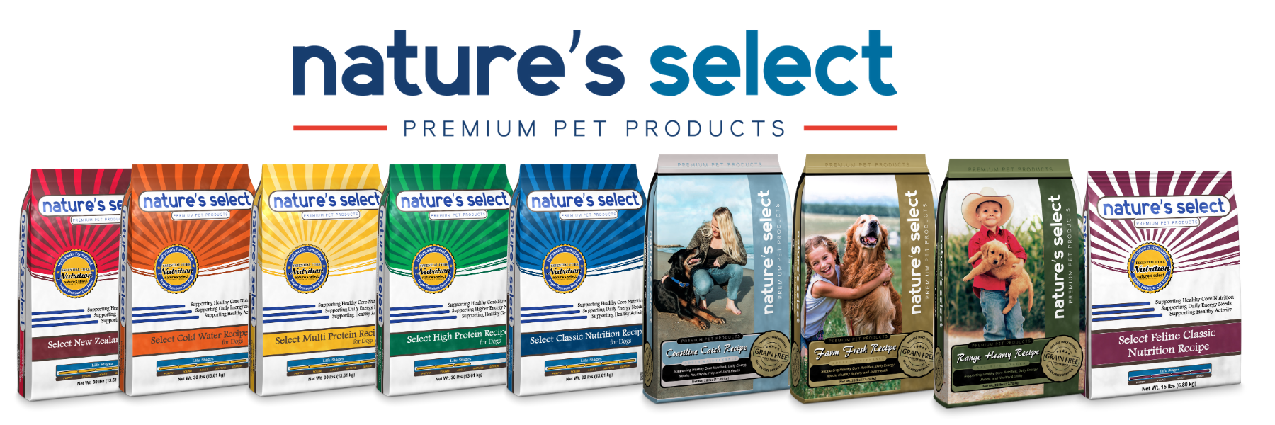 Nature's Select Product Lineup
