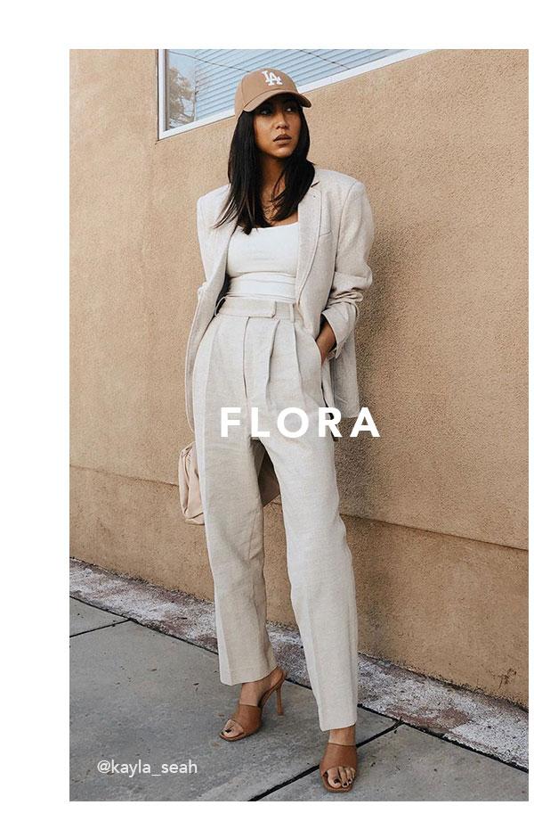 FLORA TAN   Shop Now