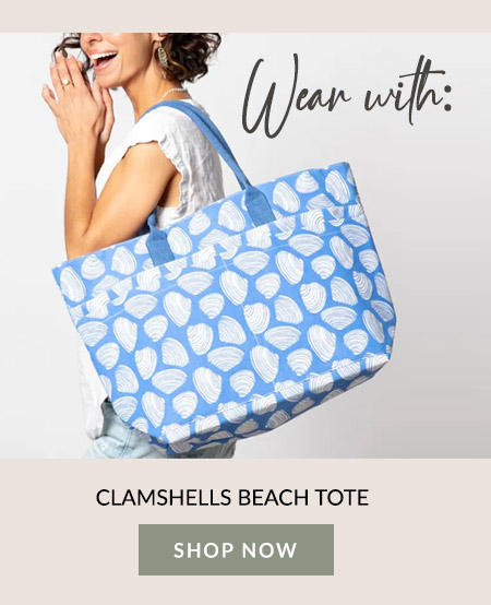 Clamshells Beach Tote