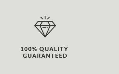 100% Quality Guranteed