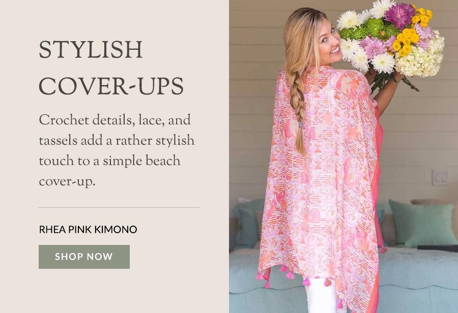Rhea Pink Kimono