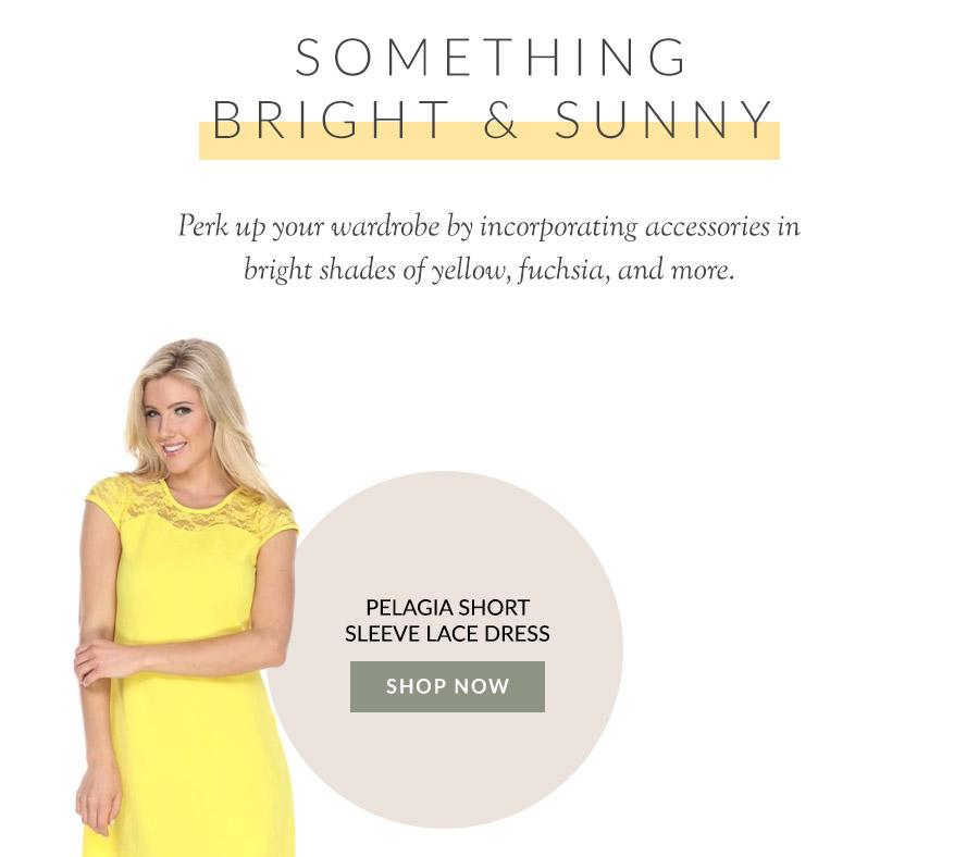 Pelagia Short Sleeve Lace Dress