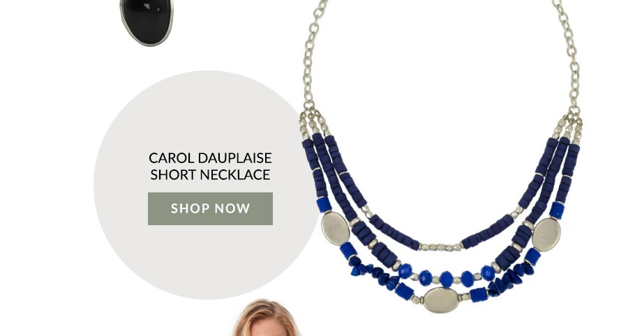 Carol Dauplaise Short Necklace